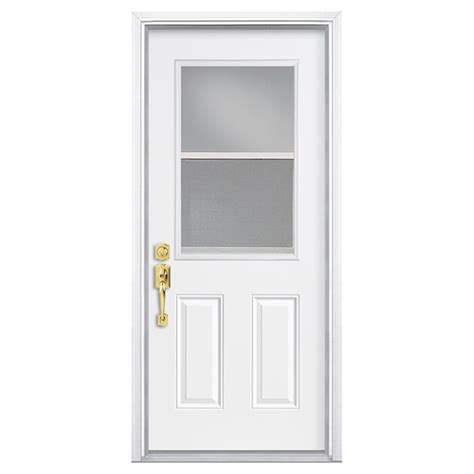 Hung Door by Pre Hung Steel Door Rona