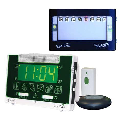 Alarm Hc serene innovations central alert ca 360 alarm clock audio