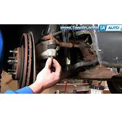 How To Install Replace Steering Outer Tie Rod End Ford Taurus Mercury