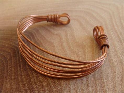 handmade copper wire bracelet copper bangle