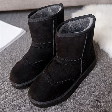 warm comfortable boots winter women keep warm boots suede comfortable casual