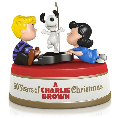 peanuts 174 a charlie brown christmas ornament with sound