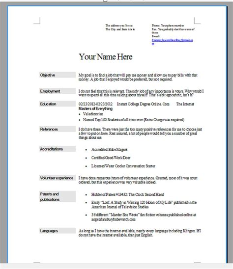 10 resume tips choose the right format writing resume sle
