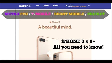 iphone 8 8 plus metro pcs boost mobile cricket