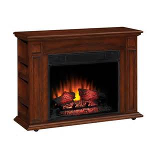 chimney free 37 in cherry electric fireplace lowe s canada