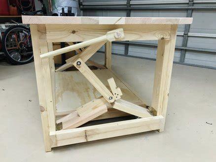 work bench on wheels workbench with retractable wheels by woodshaver tony c lumberjocks com