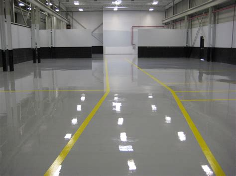 the best flooring for your warehouse enhanced concrete