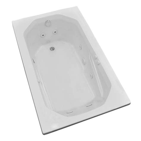 5 foot whirlpool bathtub universal tubs onyx 5 ft rectangular drop in whirlpool