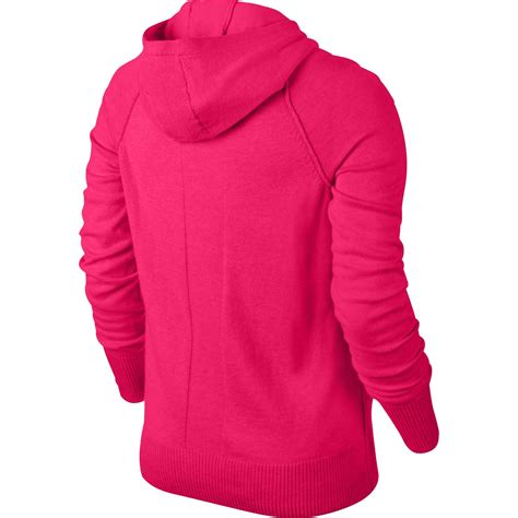Sweaterjaket Nike nike womens knit sweater jacket legion tennisnuts
