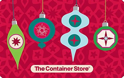 The Container Store Gift Card - the container store gift card 25 arts entertainment party celebration giving cards