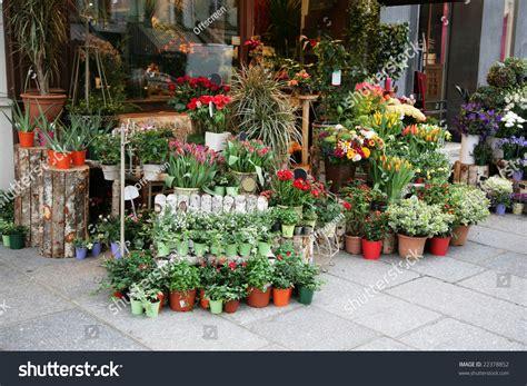 flower shop in paris paris france they display all flower shop street paris france stock photo 22378852