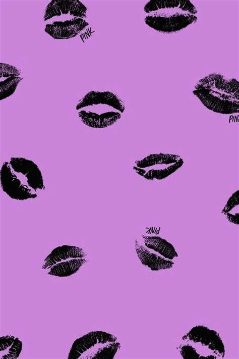 lips wallpaper pinterest pink black lips purple background iphone wallpaper