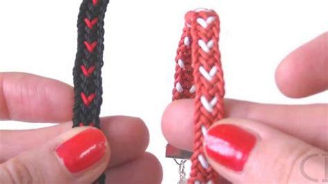 Beading DIY   Hearts Bracelet using Kumihimo Loom   YouTube