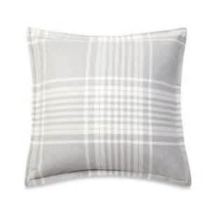 Flannel Duvet Cover Sets Buy Ugg 174 Flannel Heather Plaid Standard Pillow Sham In