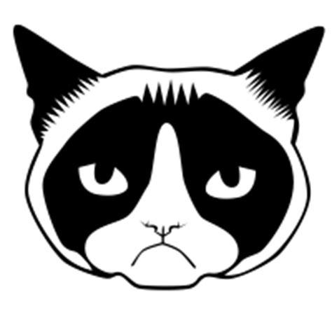 grumpy cat black and white grumpy cat icons noun project