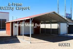 Metal Carport With Storage Carport Metal Carport With Storage