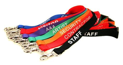 lanyards badge holders amp security passes wristbands co uk