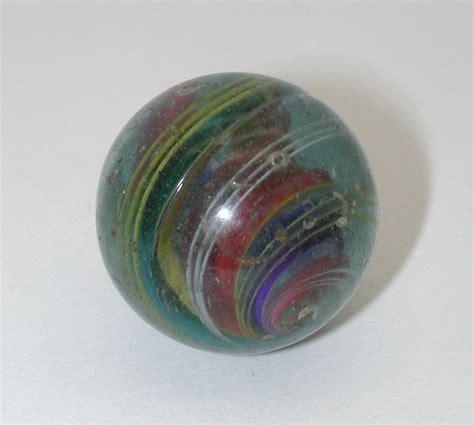 German Handmade Marbles - large vintage german swirl ribbon marble handmade r8256 ebay
