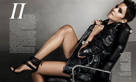 Magazine Bosses Back At Halle Berry by Halle Berry For Instyle Russia 04 Gotceleb