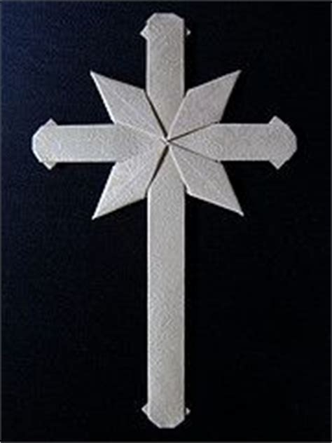 Origami Cross - carrying cross by neal elias where i can