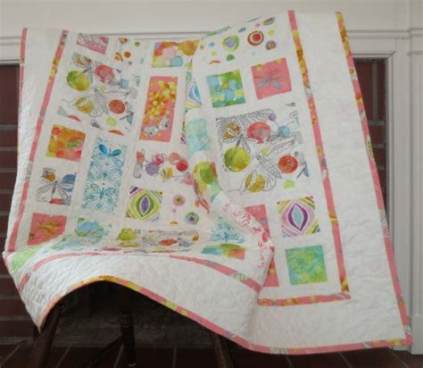 Handmade Baby Quilt Patterns - flight patterns handmade baby quilt 40 x40 ready to ship