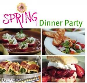 spring dinner party menu party ideas pinterest