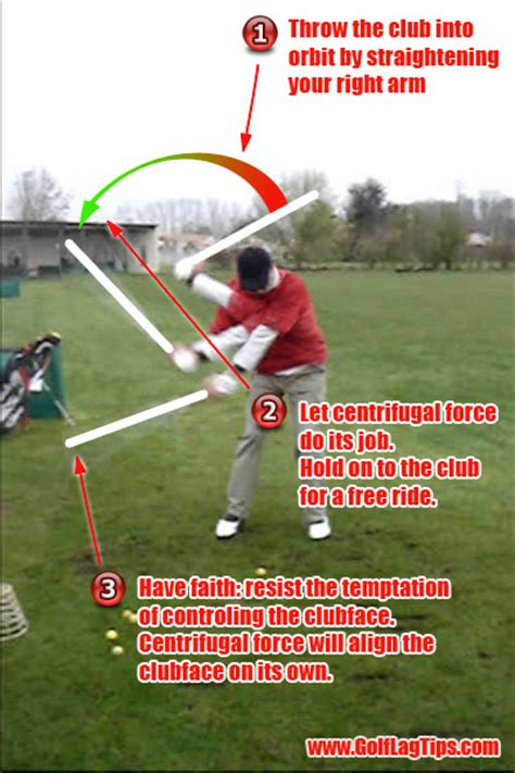 centrifugal force golf swing hitting vs swinging part 2 the swing golf lag tips