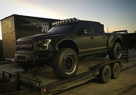 ford raptor lifted 2017 ford raptor prerunner from sema