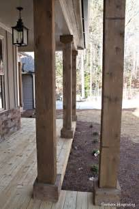 Southern Home Decor Blogs rustic columns southern hospitality blog home decor daily