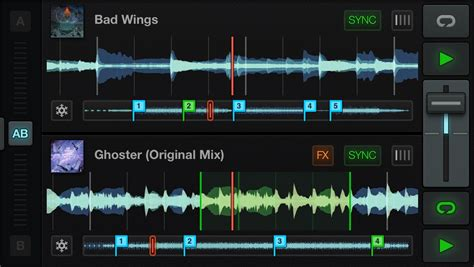 update layout kivy traktor dj on iphone waveforms and touch and the phone