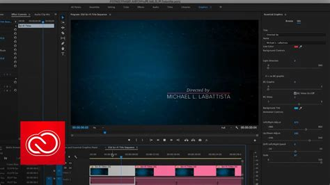 Motion Graphic Templates In Premiere Pro Cc April 2017 Adobe Creative Cloud Youtube Premiere Pro Photo Template