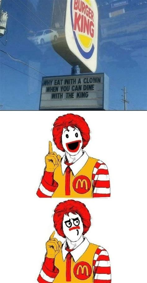Owned Meme - burger king owned mcdonalds funny dirty adult jokes