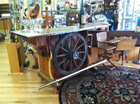 Wagon Wheel Bar Stools by Made Wagon Wheel Bar By Michael Custom