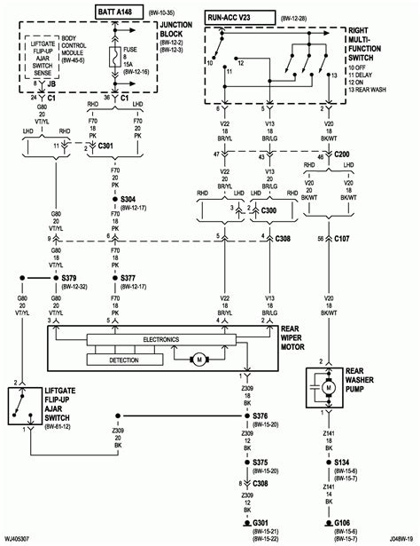 Jeep Cherokee Trailer Wiring Diagram : 07b6127 01 Jeep Gr