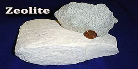 zeolite hydration zeolite assignment point