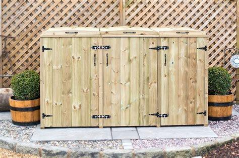 wooden wheelie bin stores uk expert storage guide
