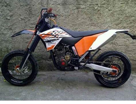 Modifikasi Motor Supermoto by Kumpulan Yamaha Scorpio Modifikasi Trail Dan Supermoto Keren