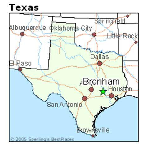 map of brenham texas best places to live in brenham texas