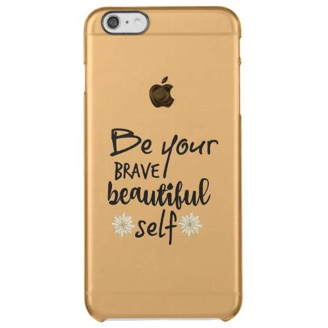 Bfc 684 For Iphone 6 6s 7 Plus Luxury Fashion Exclusive Customi motivation inspiration be yourself quote clear iphone 6
