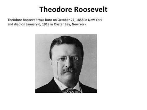 biography theodore roosevelt the life of the 26th president of the united states