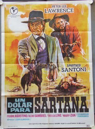 film gratis un dolar gaurit un dolar para sartana western movie posters pinterest