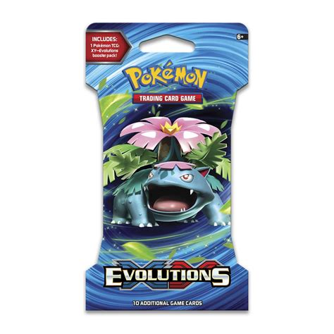 card packs pok 233 mon tcg xy evolutions booster pack trading card
