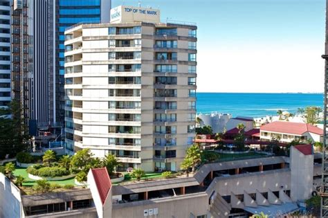 top of the apartments in surfers paradise