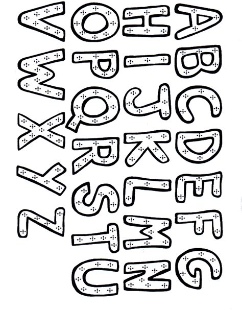 alphabet coloring sheets coloring town