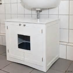 katzen wc schrank waschbeckenunterschrank f 252 r katzentoiletten g 252 nstig bei