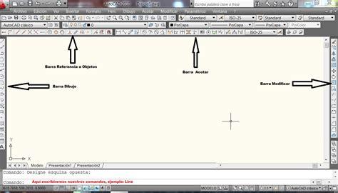 barra superior autocad primer tutorial de autocad de la serie f 225 cil y pr 225 ctico