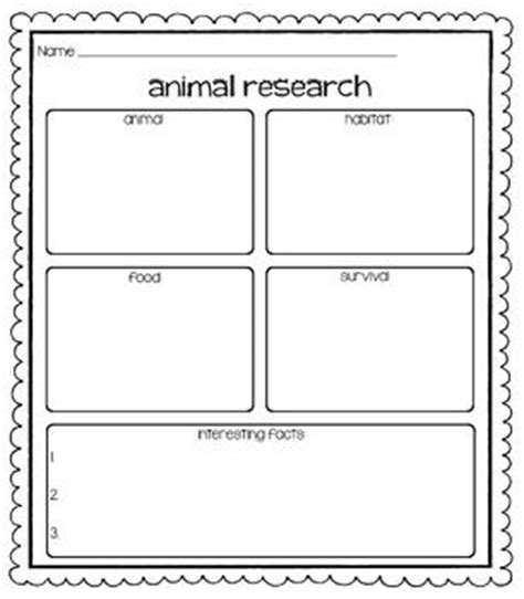 1000 Images About Animal Research Ideas On Pinterest Animal Facts Animals And Miss Smith 4th Grade Animal Research Project Template