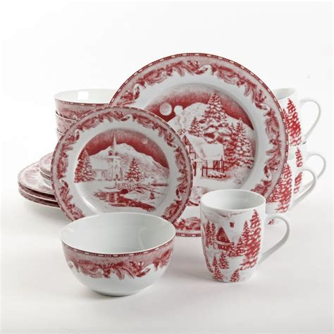 best rated christmas holiday dinnerware sets on sale