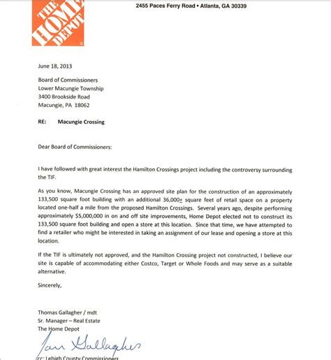 cover letter for home depot cover letter for an internship with no experience