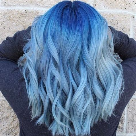 Dyed Hairstyles by 25 Best Ideas About Blue Hair Colors On Blue